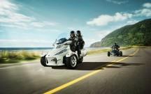 Can-Am Spyder Roadster, Modelle 2012: Präsentation auf den Spyder Roadster Days am 20. und 21. April