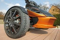 Frank Wunderle: 17-Zöller mit 195/40er Niederquerschnitt-Reifen für Can-Am Spyder Roadster