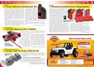 ATV&QUAD Magazin 2012/04, Seite 14-15, Aktuell: Fuchs Silkolene Stoßdämpfer-Öle; DerATVShop.de: Swisher-Mähwerk; XRW: Tank für Polaris RZR XP 900; Rotopax: Modulares Schnellverschluss-Transportsystem