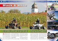 ATV&QUAD Magazin 2012/04, Seite 44-47, Umbauten / PIMPs: Langbein YFZ 450 und Cramer YFM 660 Raptor
