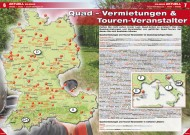 ATV&QUAD Magazin 2012/05, Seite 6-7: Quad-Vermietungen & Touren-Veranstalter