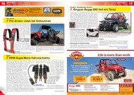 ATV&QUAD Magazin 2012/05, Seite 16-17, Aktuell: Pro Armor jetzt bei Schuurman; 3ppp: RPM SuperMoto Fahrwerkskits; Quadix: Xingyue Buggy 800 4x4 mit Türen