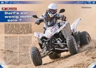 ATV&QUAD Magazin 2012/05, Seite 36-37, Test Aeon Cobra 400: Darf's ein wenig mehr sein?