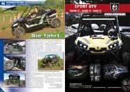 ATV&QUAD Magazin 2012/05, Seite 46-47, Präsentation Arctic Cat WildCat 1000: Sie fährt.