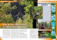 ATV&QUAD Magazin 2012/05, Seite 54-55, Einsatz Seilbahn-Bau und -Service Hirschgrund Zipline: Zip Line Service