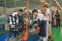 CF Moto: Rahmen-Produktion