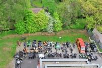 Initiative Glückliche Kinderherzen, Ausfahrt 2012: Stuttgart Weilimdorf aus der Luft betrachtet