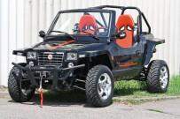 Quadix Buggy 800 4x4: Jetzt auch in trendigem Schwarz und mit Türen erhältlich
