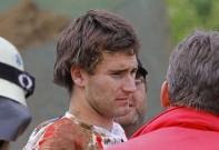 EMX European Quad Challenge 2012, zweiter Lauf in Reutlingen: Romain Couprie nach dem Sturz noch benommen