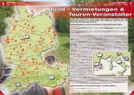 ATV&QUAD Magazin 2012/06, Seite 6-7: Quad-Vermietungen & Touren-Veranstalter