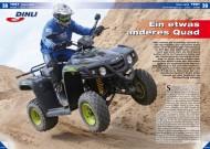 ATV&QUAD Magazin 2012/06, Seite 38-43, Test Dinli 450 R: Ein etwas anderes Quad