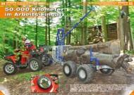 ATV&QUAD Magazin 2012/06, Seite 54-57, Einsatz Polaris Sportsman 700 X2: 50.000 Kilometer im Arbeits-Einsatz