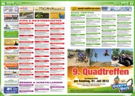 ATV&QUAD Magazin 2012/06, Seite 96-97, Szene / Termine: Quad-Treffen, Messen & Ausstellungen, Cups & Meisterschaften