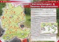 ATV&QUAD Magazin 2012/07-08, Seite 6-7: Quad-Vermietungen & Touren-Veranstalter