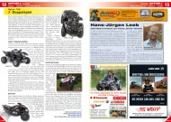 ATV&QUAD Magazin 2012/07-08, Seite 12-13, Aktuell / Handel: Online / TGB, Doppelspiel