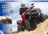 ATV&QUAD Magazin 2012/07-08, Seite 20-25, Test Aeon Crossland 400: Kleiner Allradler