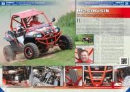 ATV&QUAD Magazin 2012/07-08, Seite 30-31, Umbau Polaris RZR 900 XP mit Kompressor: Blasmusik