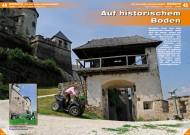 ATV&QUAD Magazin 2012/07-08, Seite 44-45, ATV-Einsatz auf Burg Hochosterwitz: Auf historischem Boden