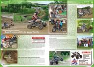 ATV&QUAD Magazin 2012/07-08, Seite 74-75, Szene Rennsport, BQC Bavarian Quad Challenge: Quad-Rennsport für die ganze Familie
