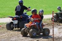 Quadhawks, Quadtreffen in Hirschbach: Kinder-Parcours