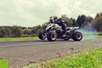SJ Racing, Exeet Martini Outlaw: quer durch die Kurve – ausreichend Leistung ist ja vorhanden...