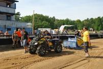 Pulling Contest: mit Bremswagen
