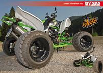 ATV&QUAD Magazin 2012/09-10, Seite 42-43, Poster Umbau eXeet Monster 600R: Grüner Porsche-Killer