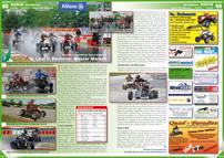ATV&QUAD Magazin 2012/09-10, Seite 68-69, Szene Österreich, Austrian SuperMoto Quad Masters, 4. Lauf in Rechnitz: Wasser Marsch