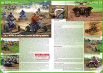 ATV&QUAD Magazin 2012/09-10, Seite 76-77, Szene Rennsport, GCC German Cross Country, 6. Lauf in Schefflenz: Freund vorzeitig Meister