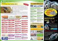 ATV&QUAD Magazin 2012/09-10, Seite 80-81, Szene Termine, ActionQuad: 4. Arctic-Cat-Treffen 2012; Termine Cups & Meisterschaften; Termine Messen & Ausstellungen; Termine Quad-Treffen