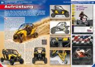 ATV&QUAD Magazin 2012/11-12, Seite 30-31, Präsentation Can-Am Maverick 1000R: Aufrüstung