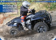 ATV&QUAD Magazin 2012/11-12, Seite 32-33, Test Triton Defcon 700 EFI 4x4: Neuling im Oberhaus