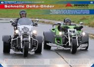 ATV&QUAD Magazin 2012/11-12, Seite 40-41, Vergleich Rewaco Bike-Conversion vs. klassisches Trike: Schnelle Delta-Glider