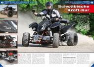 ATV&QUAD Magazin 2012/11-12, Seite 48-49, Umbau / Tuning Weiser Triton 450 SuperMoto: Schwäbische Kraft-Kur