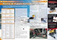 ATV&QUAD Magazin 2012/11-12, Seite 56-57, Service Winter-Ausrüstung: Parts & Tipps für den Winter