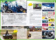 ATV&QUAD Magazin 2012/11-12, Seite 86-87, Szene Schweiz, HB-Adventure Switzerland: Fahrfreuden mit Motor- und Elektro-Schlitten; ATV Funware / QuadTech Koch: 1. Quad-Event in Fislisbach 2012