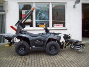 Kini Tec: Winterdienst Spezial Cectek Gladiator 500 EFI ix T5 4x4