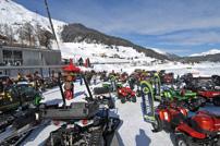 8. Quadfahren auf Eis in Davos
