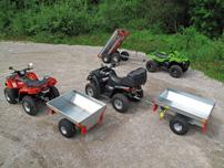 Baumgartner: importiert die Anhänger von ATV-Expert