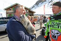 Großglockner-Ausfahrt Quadomania: Murmeltier meets Arctic Cat...
