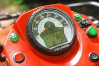Freppon / Onkel Schmitti´s Hütte, Polaris Sportsman 700 mit 50.000 Kilometern