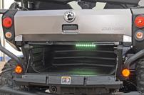 Quad Stadel Schwab, Umbau Can-Am Commander 1000 LTD: LED-Kofferraumbeleuchtung