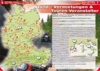 ATV&QUAD Magazin 2013/01-02, Seite 6-7: Quad-Vermietungen & Touren-Veranstalter