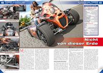 ATV&QUAD Magazin 2013/01-02, Seite 40-41, Tuning GG Quadster Turbo: Nicht von dieser Erde