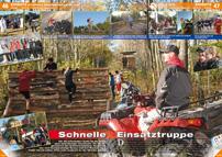 ATV&QUAD Magazin 2013/01-02, Seite 46-49, Einsatz bei den Berliner Cross-Days: Schnelle Einsatztruppe