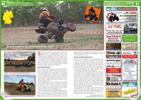 ATV&QUAD Magazin 2013/01-02, Seite 50-51, Szene Deutschland PLZ 0; 1. Neuseenländer Quadverein: Erste eigene Vereinsmeisterschaft