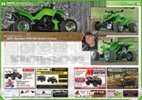 ATV&QUAD Magazin 2013/01-02, Seite 54-55, Szene Deutschland PLZ 3; QRP Quad Roller Point: QRP Yamaha YFM 600 Green Poison
