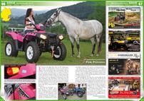 ATV&QUAD Magazin 2013/01-02, Seite 66-67, Szene Deutschland PLZ 9; HP Geländewagentechnik: Pink Princess