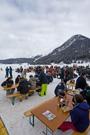 8. Quadfahren auf Eis in Davos: Besucherrekord mit 71 TeilnehmerInnen