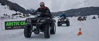 8. Quadfahren auf Eis in Davos: Drifts in 1.600 Metern Seehöhe